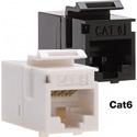 Platinum Tools 768WH-1 Cat6 Keystone Coupler - F to F - White UTP - 1 Piece