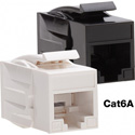 Platinum Tools 770WH-1 Cat6A Keystone Coupler - F to F - White UTP - 1 Piece