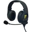 Pliant Technologies PHS-SB210E-DMG SmartBoom PRO Dual Ear Headset with Dual 3.5mm Gold Connector