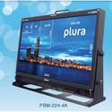 Plura PBM-224-4K 24 Inch 4K Broadcast Monitor (3840 x 2160)