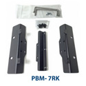 Plura PBM-7RK - Tilt Rack mount for 7 Inch Monitor