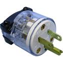 Hospital Grade 3-Prong AC Plug - Single Pack