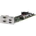 ATX Networks EM-2HD MPEG-2/H.264 Dual HD Encoder Module for PD1000