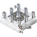 ATX Networks TSV-8SB 1GHz 8-Port Vertical Port Splitter Soldered Back