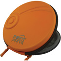 Point Source Audio CO-PCH Premium Storage Case for Point Source Audio Mics - Conveniently stores up to 4 Mics - Orange