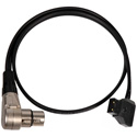 Laird POWERTAP-36IN Anton Bauer PowerTap (P-Tap) to Right Angle 4-Pin XLR Female Power Cable - 36 Inch