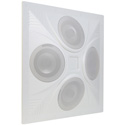 Pure Resonance Audio PRA-SD4 SD4 SuperDispersion Ceiling Speaker Array 8 Ohm/70V
