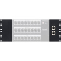 PreSonus NSB16.8-Rack Kit 4U Rack Mounting Kit with Two Blank Panels - One Panel with Ethercon Jacks/Two Ethernet Cables