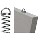 Primacoustic F101 1004 00 Corkscrew Twist-in Baffle Anchor Spring Style