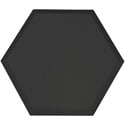 Primacoustic P115 1416 00 Broadway Element Accent Hexagon Panel - Beveled Edge - Black