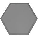 Primacoustic P115 1416 08 Broadway Element Accent Hexagon Panel - Beveled Edge - Grey