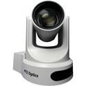 PTZOptics 12x Zoom PTZ Camera - NDI-HX 3G-SDI HDMI CVBS IP Streaming - 72.5 Degree FOV (White w /  US Power Supply)