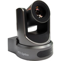 PTZOptics 20x Zoom PTZ Camera - USB 3.0 IP Network RJ45 HDMI CVBS - 1920 x 1080p - 60.7 Degree FOV (Gray) US Style Power