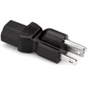 Grounded IEC Power Adapter