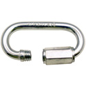 3/16 Zinc Plated Threaded Quick Link - Quick Pull