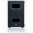 QSC KS112 1000W Ultra Compact Powered Subwoofer Long Throw 12-Inch Woofer - 4 Large Swivel Casters - Bandpass Enclosure