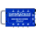 Radial Catapult TX4L Cat 5 Analog Snake Transmitter with 4 XLR Inputs & 4 Line Level Isolated XLR-M Outputs