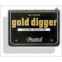 Radial Gold Digger Microphone Selector