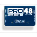 Radial Pro48 Active Direct Box - 48V Phantom Powered