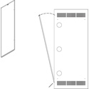 Middle Atlantic RAP21 Rear Access Panel for SLIM 5-21 Rack