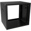 Hammond RCHV1901417BK1 RCHV Series Ventilated Desk Top Rack 8U 17.5 Inch Deep