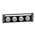 RDL AMS-RU4 Mounting Panel for 4 AMS Accessories