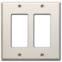 RDL CP-2 Double Cover Plate - white