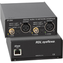 RDL SF-DN4 Two Left/Right Digital Audio to Four Dante Network Audio Signal Interface