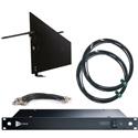 RF Venue DFINBD9 DISTRO9 HDR and Diversity Fin Antenna Bundle - Black Wallmount Version