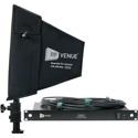 RF Venue DFINBDISTRO4 4 Channel Antenna Distributor with Diversity Fin Black Install Antenna Bundle