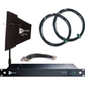 RF Venue DFIND9 DISTRO9 HDR and Diversity Fin Antenna Bundle