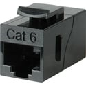 Connectronics CAT-6 RJ45 8 Conductor Modular Female-Female Feedthru Coupler