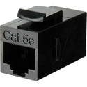 Connectronics CAT-5e RJ45 8 Conductor Modular Keystone Mountable F-F Feedthru Coupler