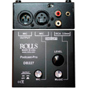 Rolls DB227 Podcast-Pro Microphone/Source Mixer
