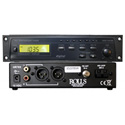 Rolls HR78X Digital 1/2 Rack AM/FM Tuner With XLR Outputs
