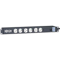 Tripp Lite RS1215-HG UL 1363 1U Rackmount Power Strip w/ 12 Hospital-Grade Outlets - 15 Foot Cord (Not for Patient-Care)