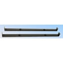 Mid-Atlantic -C Clamp Bars (2pcs) for Vented Universal Rackshelves