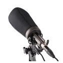 Rycote 033201 12cm Super-Softie (19/22) Premium push-on Windshield with 3D-Tex
