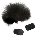 Rycote 065514 Black Lavalier Windjammers (Single)