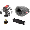 Rycote 46025 Portable Recorder Kit for Zoom H5 Including Shockmount Mini Windjammer and Extension Handle
