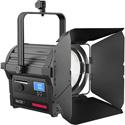 Rayzr 7 200BM Bi-Color Premium Pack - Rayzr 7 200w Bi-Color (3200K - 5600K) LED Fresnel 4-Leaf Barn Door - PS & Case