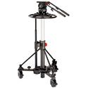 Sachtler 2580 Video 25 Plus FB Fluid Head (2501P) / Pedestal Combi 1-40 (5199)