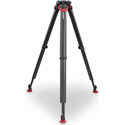 Sachtler 5584 Flowtech 100 2-Stage Carbon Fiber Tripod with Quick Release Brakes and Rubber Feet