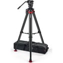 Sachtler S2068S-FTMS System aktiv8 Sideload with Flowtech 75 Tripod/Mid-level Spreader/Carry Handle and Bag