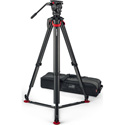 Sachtler S2068T-FTGS System aktiv8T Touch & Go with Flowtech 75 Tripod/Ground Spreader/Carry Handle and Bag