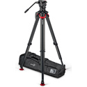 Sachtler SS2072S-FT System aktiv10 Sideload with Flowtech 100 Tripod/Rubber Feet and Bag