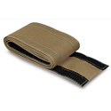 Safcord Cable Crossover Velcro Cord Cover 4 Inch Wide 6 Ft. Roll - Taupe