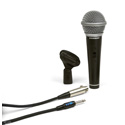 Samson R21S Dynamic Cardiod Handheld Mic with Switch - Mic Clip  and cable