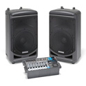 Samson XP1000 1000 Watt Portable PA - 10 Channel Mixer/ Bluetooth/ USB Wireless