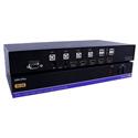 Smart AVI HDN-4PLUS 4-Port HDMI KVM Switch with 4K Ultra HD & USB 2.0 Sharing